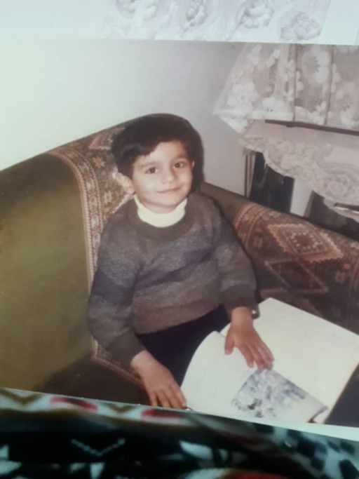 Rami, pictured here at age 7, grew up in Homs, Syria, where Ramadan was a big part of life.