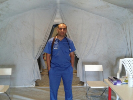Rami worked at the Emirati Jordanian Red Crescent Hospital where he saw numerous Syrian refugees and where supplies and equipment were often limited.