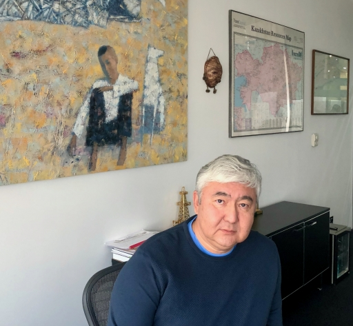 Almas Chukin, an entrepreneur who got Chinese funding for Kazakhstan's first major wind energy projects after US and European potential investors turned him down.