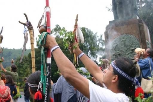 """Spirit Run"" staff ceremony"