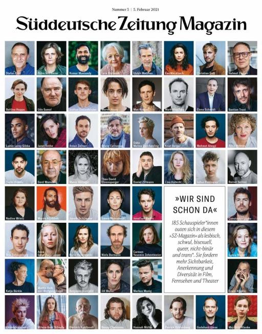 Cover of Süddeutsche Zeitung Magazin