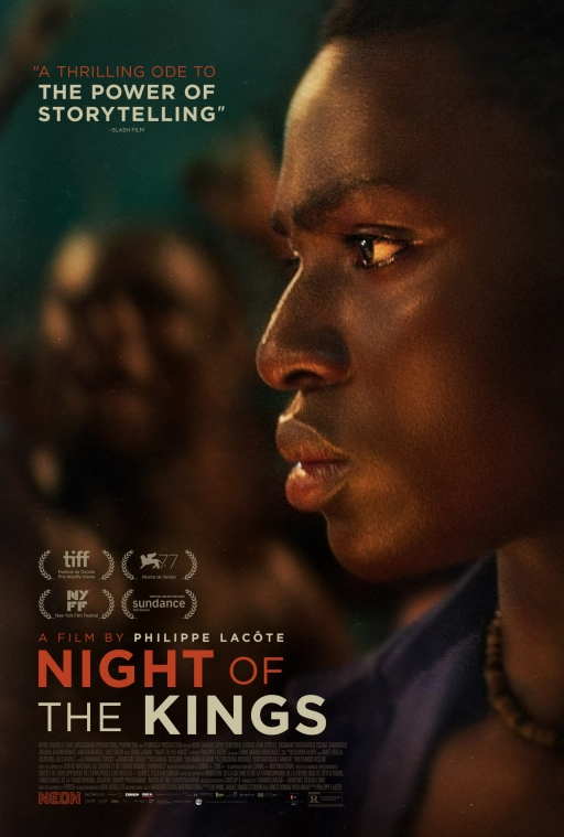 """""""Night of the Kings"""" film poster"""