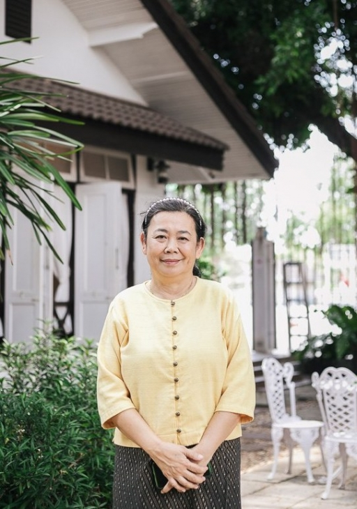 Chef Amara Akamanon uses ganja in her cooking ata restaurant called Baan Lao Ruang (The Storytelling House), which is a two-hour drive from Bangkok.
