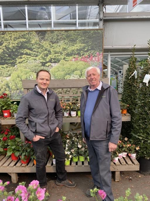 Alan and Robin Mercer run the Hillmount Garden Center in Northern Ireland.