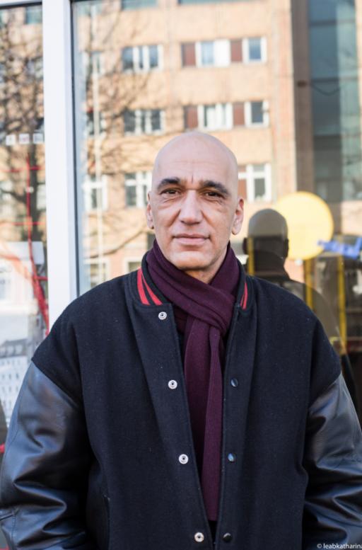 German civil rights activist Tahir Della