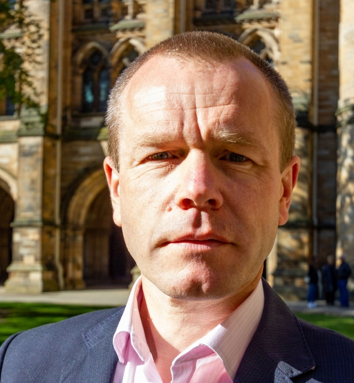 Dr. Willie Stewart is a leading neuropathologist with Queen Elizabeth University Hospital in Glasgow.