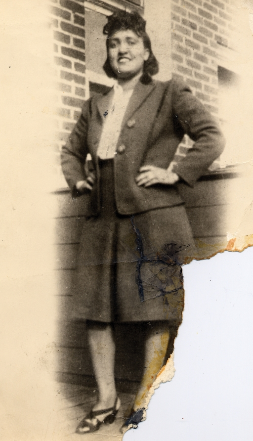 This 1940s photo made available by the family shows Henrietta Lacks