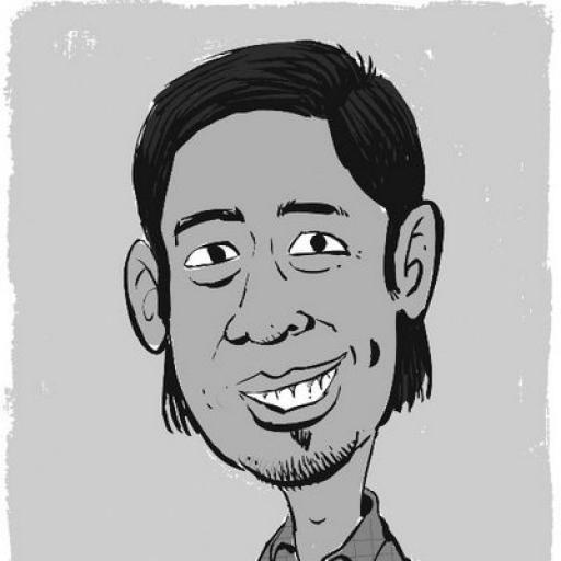 drawing of Dan Carino