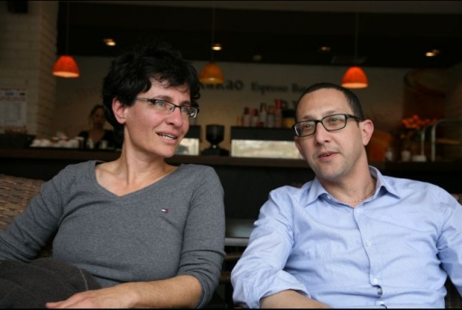 "[""<p>Anat Ben-Dor and Dr. Yuval Livnat (L-R) are co-directors of the Refugee Rights Clinic at the Tel Aviv University School of Law. They give legal advice to to LGBT Palestinians and others who have come into Israel and attempted to claim asylum. Ben-Dor co-authored Nowhere to Run, the 2008 publication detailing horrific treatment of gay Palestinians both within the territories and Israel itself. </p>\n""]"
