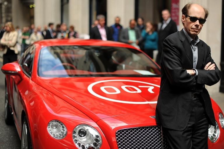 <p>promotional James Bond car.</p>