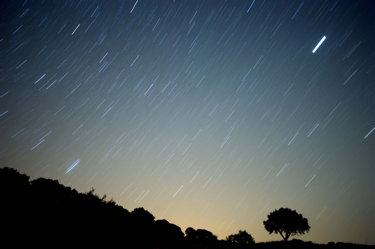 <p>An Orionid meteor shower will light up the sky tonight says NASA.</p>