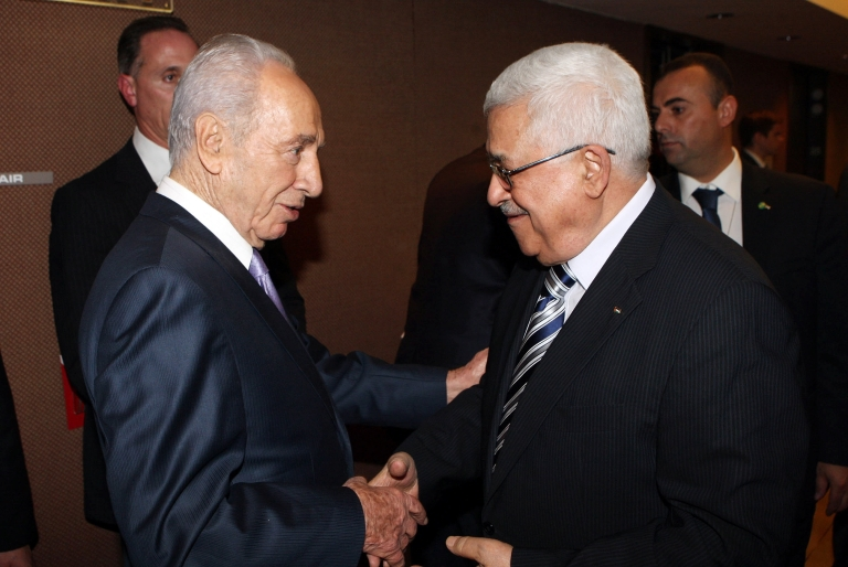 <p>The Israeli President Shimon Peres was criticized by the Likud party Sunday after he said Palestinian President Abbas was a partner in peace.</p>