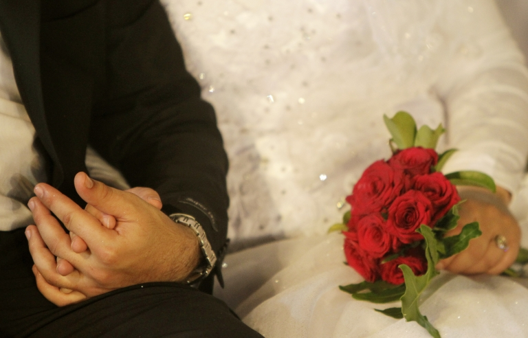 <p>Lebanon's Justice Ministry rejected a request to legalize civil marriage Monday.</p>