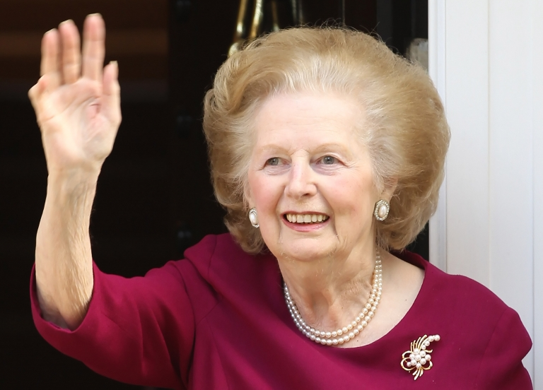 <p>Former British Prime Minister Margaret Thatcher died on Monday, April 8. She was 87.</p>