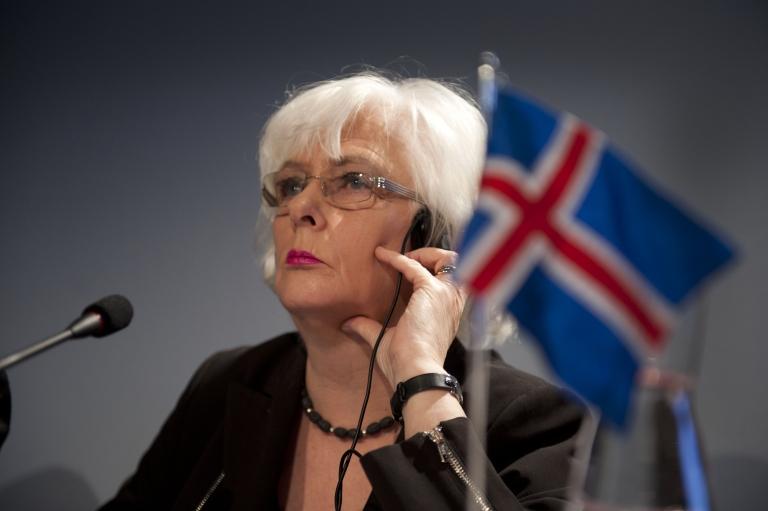 <p>Iceland Prime Minister Johanna Sigurdardottir. International credit rating agency Fitch upgraded Iceland's sovereign debt from