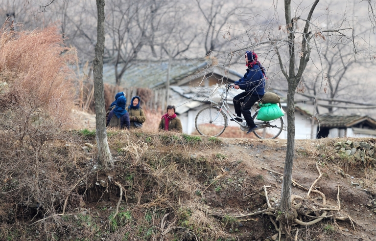 <p>A ban on female biking in urban areas was lifted in North Korea, reversing an earlier decree by the late Kim Jong Il.</p>