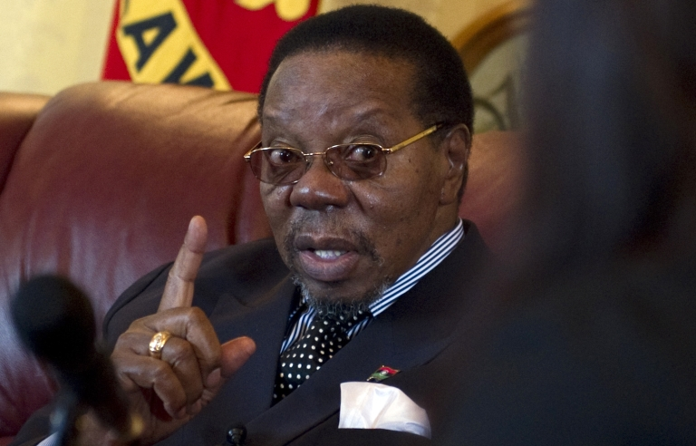 <p>Malawi's President, Bingu wa Mutharika, accused aid groups and foreign donors for conspiring against his government in a speech Sunday night.</p>