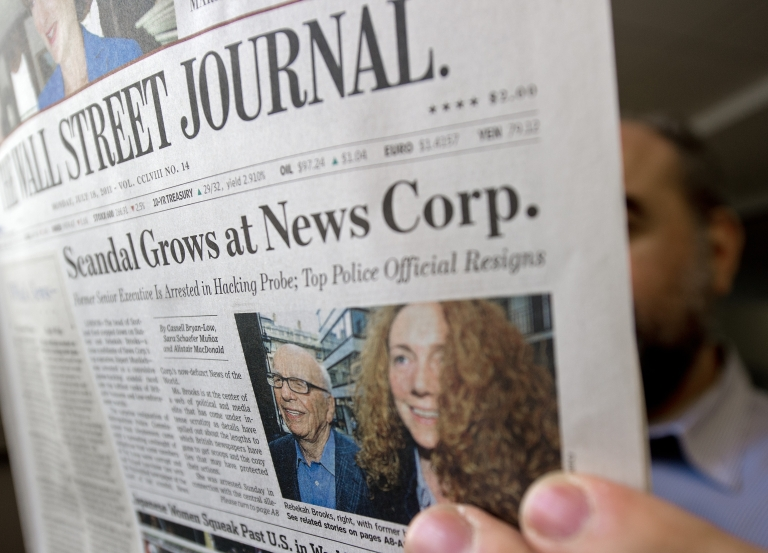 <p>A new report says Fox News and the Wall Street Journal misleads the public on climate science.</p>