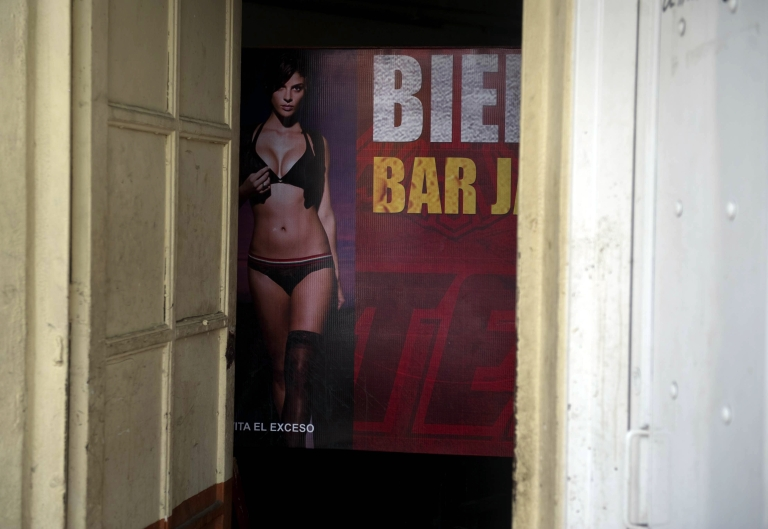 <p>A bar in Culiacan, Sinaloa State — birthplace of the Sinaloa cartel. Sinaloa has banned ballads glorifying drug traffickers, which have otherwise attracted growing support in recent years.</p>