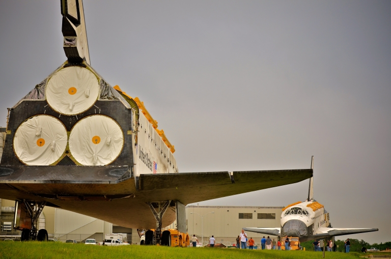 <p>The space shuttle Discovery was decommissioned recently and will be flown to its new home at the Smithsonian Museum in Washington DC in the coming days.</p>