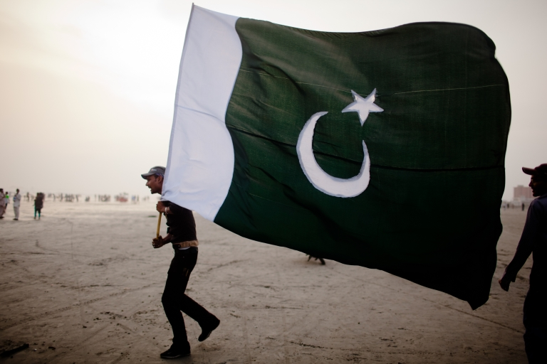 <p>At least nine people were dead and 16 other wounded after a suicide bomber attacked a compound in northwestern Pakistan on Saturday.</p>