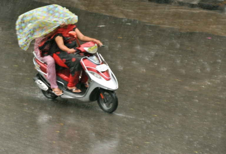 <p>Dying for good hair? Across India, women are exempted from helmet laws for no better reason.</p>