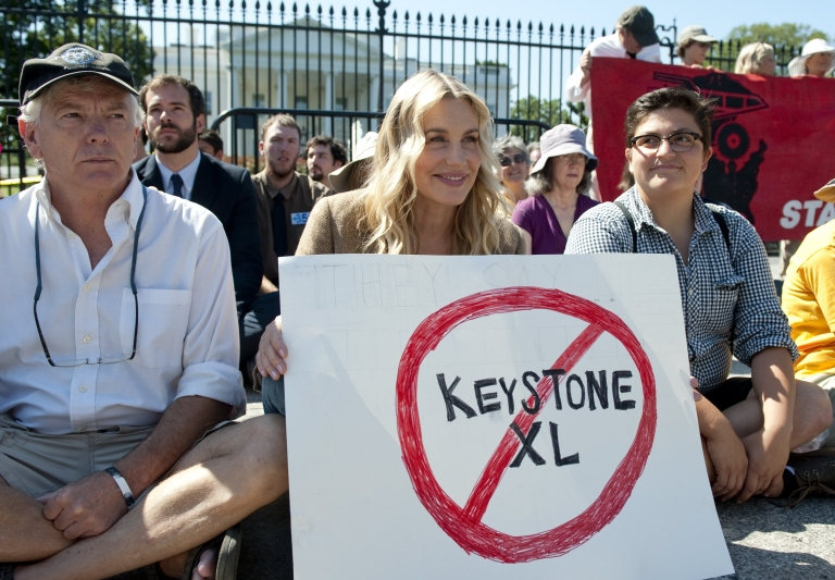 <p>The contentious Keystone XL pipeline will begin work on the Oklahoma to Gulf Coast portion that does not require State Department approval.</p>