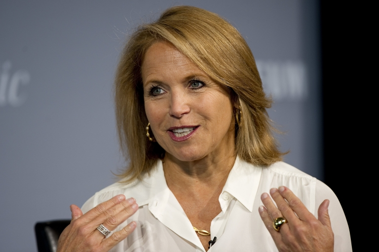 <p>Katie Couric has (unknowingly) become the face of Iraqi electricity.</p>