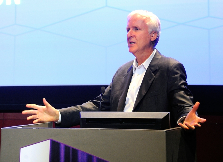 <p>James Cameron, award winning director and inventor, will donate his record-breaking Deepsea Challenger submersible to science, he announced on March 26.</p>