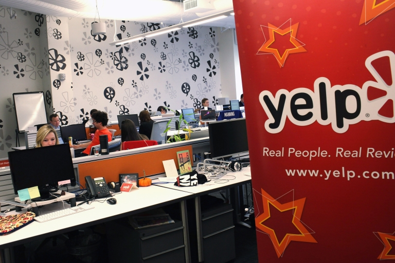 <p>Yelp shares jumped Friday during the company's IPO, which is expected to raise about $107 million, giving the company a market capitalization of over $1 billion.</p>