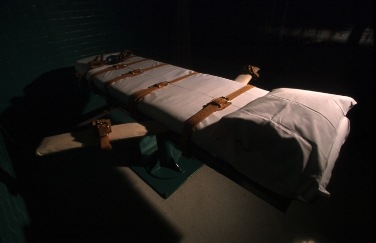 <p>The Texas death chamber in Huntsville.</p>