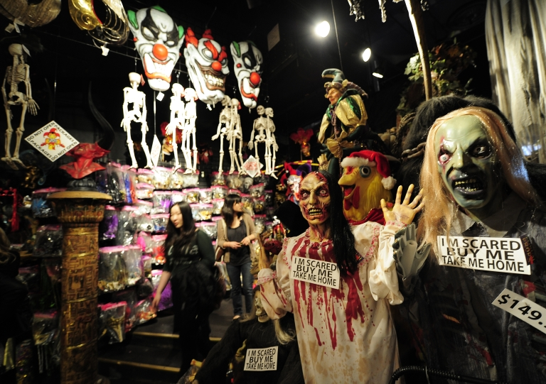 <p>A woman in Oregon said she found a letter from a Chinese laborer in Halloween decorations she purchased at Kmart.</p>