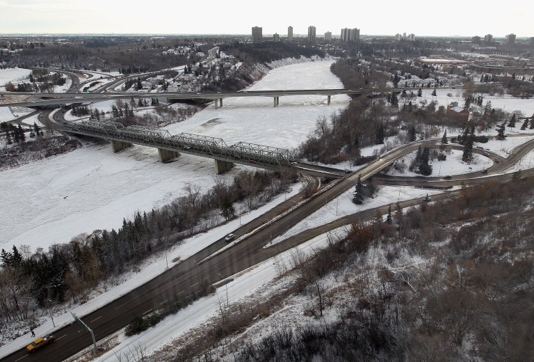 <p>Edmonton, in Alberta, Canada, near where it is alleged that Australian mother Allyson McConnell drowned her two young sons in a bathtub before jumping off an overpass onto a freeway.</p>