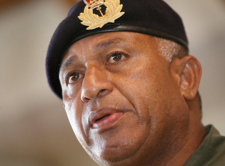 <p>Fiji's military leader