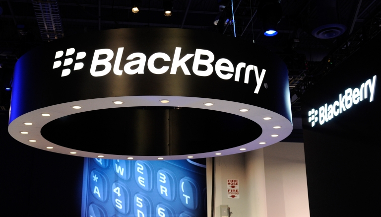 <p>Blackberry outage in Europe, the company's second major breakdown in the last year.</p>