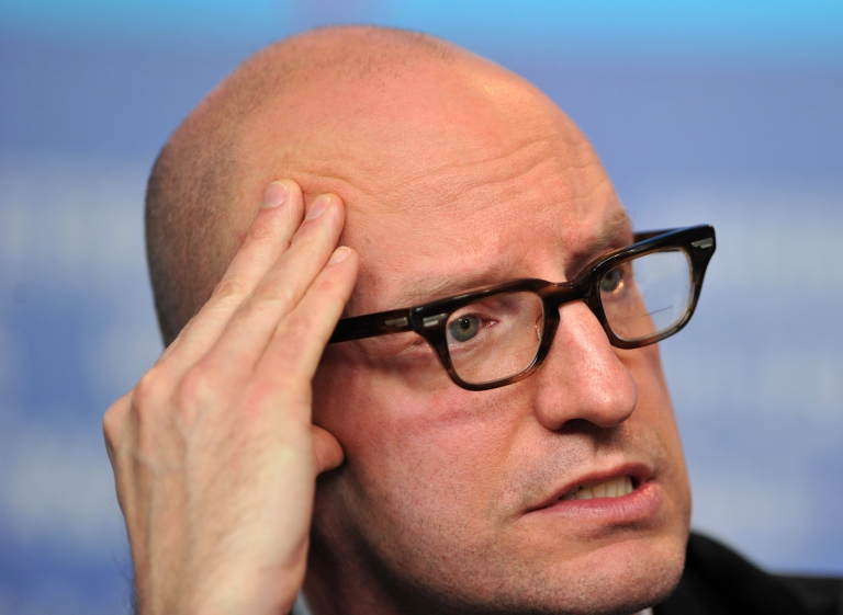 <p>US director Steven Soderbergh gives a press conference to present the film