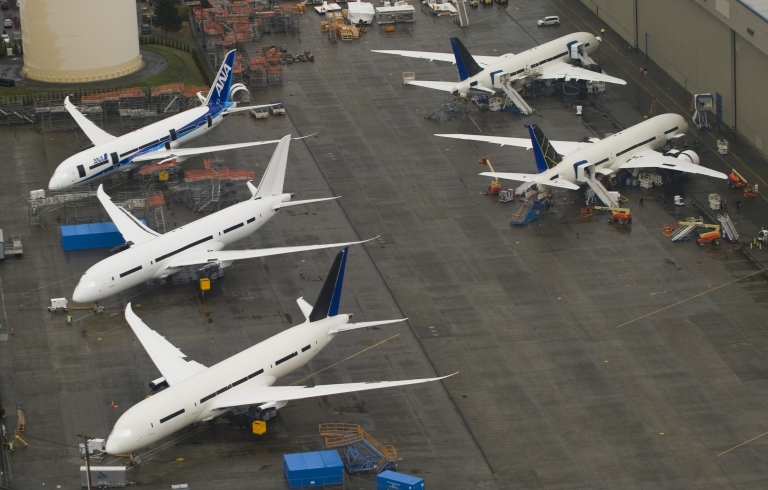 <p>The WTO found Monday that airplane maker Boeing had received $5.3 billion in illegal subsidies over the last 25 years.</p>
