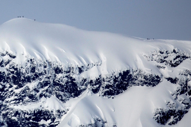 <p>Police and military helicopters have been sent to Mt Sorbmegaisa near Tromsoe on Norway's Arctic coast on Monday, with rescue workers also using dogs in their search.</p>