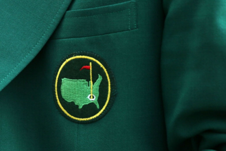 <p>A detail of a members jacket is seen during the Par 3 Contest prior to the start of the 2012 Masters Tournament at Augusta National Golf Club on April 4, 2012 in Augusta, Georgia.</p>