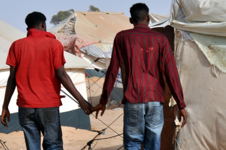 <p>They go to camps to flee persecution in their own countries, but what LGBT refugees find is a less-than-friendly situation. In many cases, their lives are in danger and they must find emergency resettlement opportunities through the US, the UN or an NGO.</p>