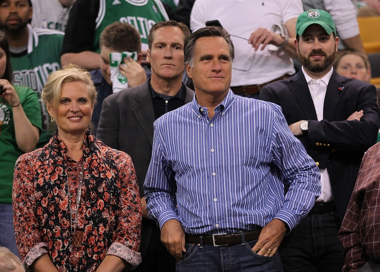 <p>Married for 43 years, Ann and Mitt Romney have five children and 18 grandchildren.</p>