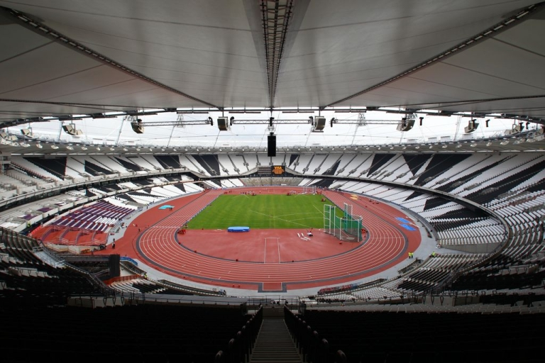 <p>The flame will finish its journey in the Olympic Stadium in London on July 27, where it will burn throughout the Games.</p>