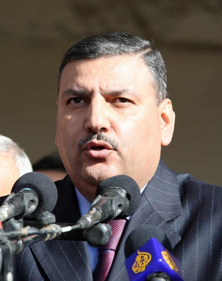 <p>A November 24, 2008, shows Riad Hijab, then Syria's agriculture minister, speaking during a visit to Quneitra. Promoted to prime minister in June, he fled to Jordan on August 6, 2012.</p>