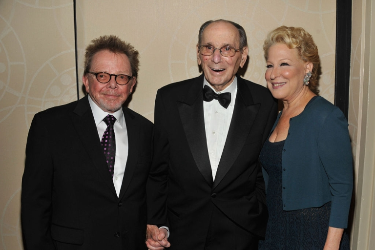 <p>Paul Williams, Hal David , and Bette Midler attend the Songwriters Hall of Fame 43rd Annual induction and awards at The New York Marriott Marquis on June 14, 2012 in New York City.</p>