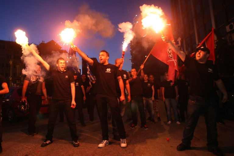 <p>A tumultuous week in Greece this week as racist murders and a firebombing have broken the relative calm.</p>