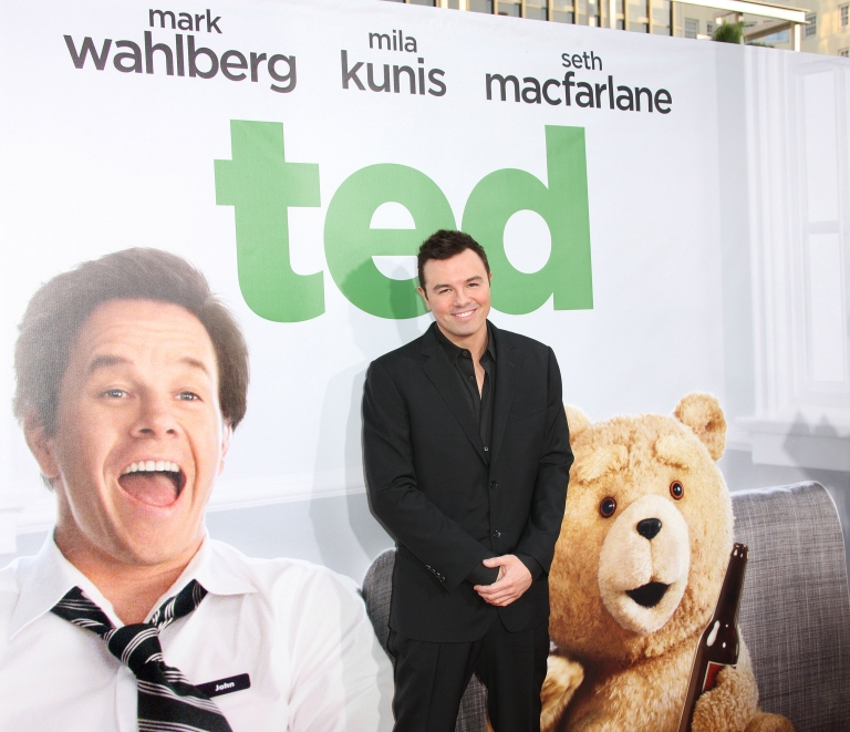 <p>Seth MacFarlane attends the Premiere Of Universal Pictures'