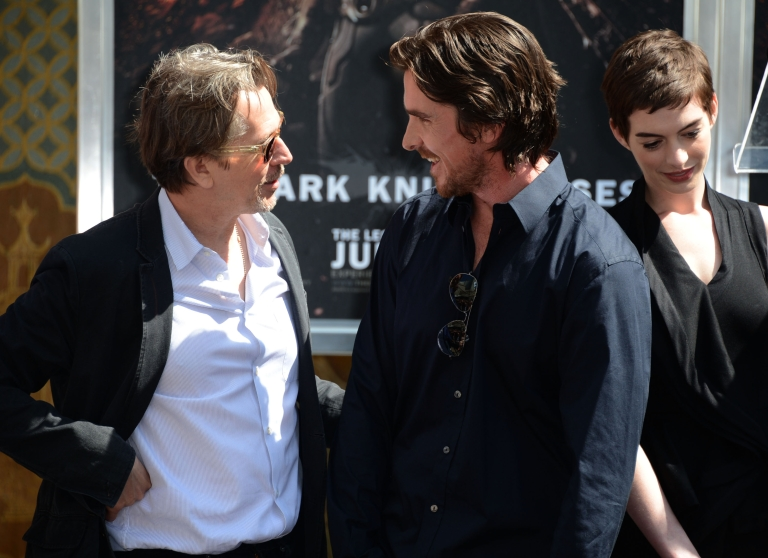 <p>Batman director, writer and producer Christopher Nolan, was honored with Hand and Footprint Ceremony at Grauman's Chinese Theatre on July 7, 2012 in Hollywood, California.</p>