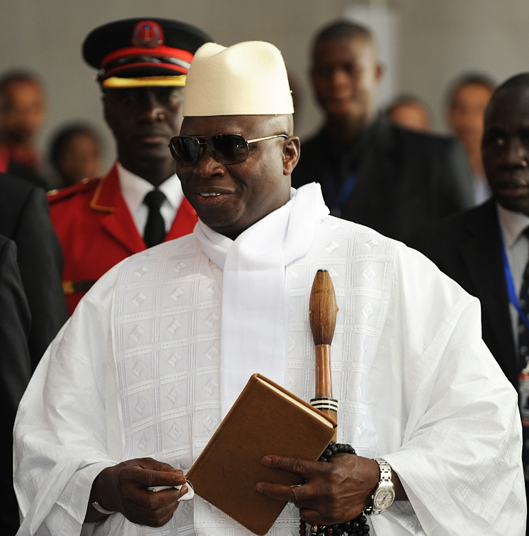<p>Gambia's President Yahya Jammeh declared a four-day work week for public service workers only on Monday.</p>