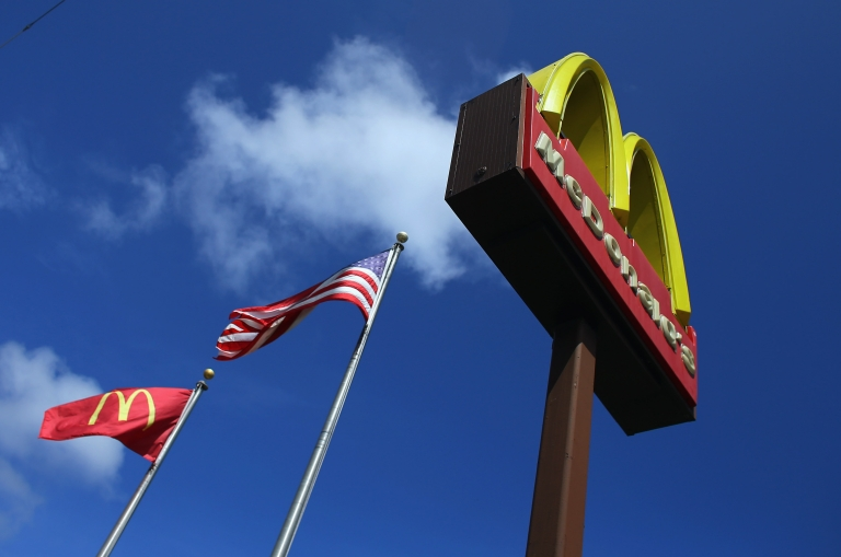 <p>McDonald's has been battling to bring back customers in the face of weak consumer spending globally by pushing its value offerings.</p>