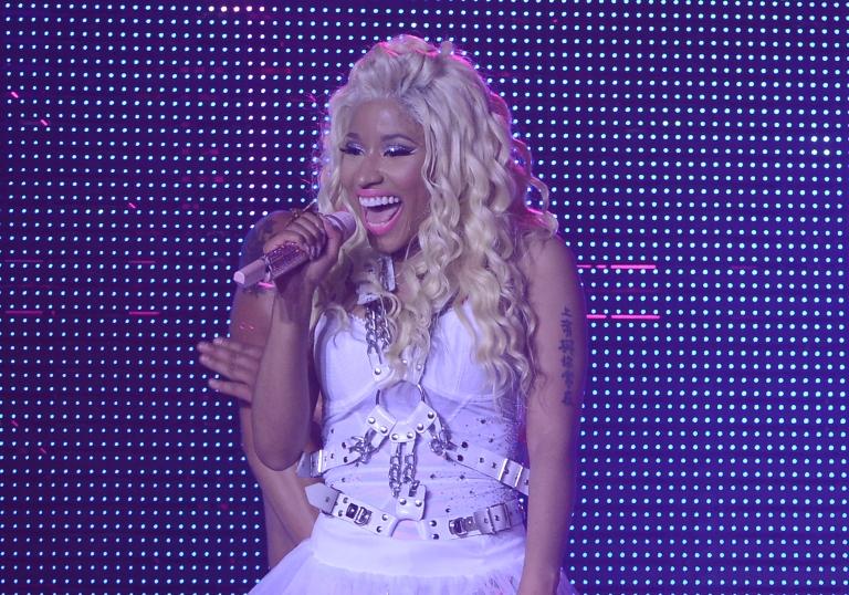 <p>Nicki Minaj performs at Pepsi Presents Nicki Minaj's Pink Friday Tour at Roseland.</p>